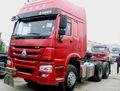 Barato Howo camiones Sinotruk 6 * 4 tractores de remolque del carro de vuelos baratos de China heavy duty truck tractor