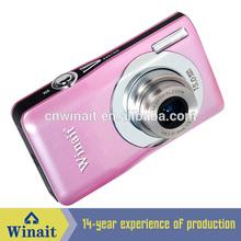 DC-V100 15 MP digital camera + 2.4'' TFT display + 8x digital zoom + anti shake + lithium batter cheap rechargeable digital ca