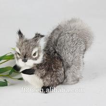 furry animated plastic simulation unstuffed squirrel