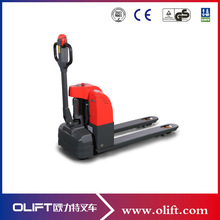 1.5 ton pallet truck full battery operated stainless steel 24V small electric pallet truck