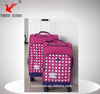 [Three Birds] 2014 trolley luggage nylon suitcase,toothbrush and toothpaste travel case