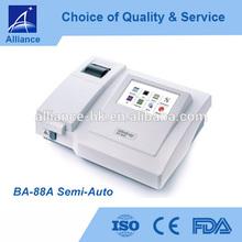 BA-88A Semi-Auto Chemistry Analyzer