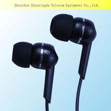 2014 SXD custom stereo 3.5mm in-ear earphone mobile phone accessory