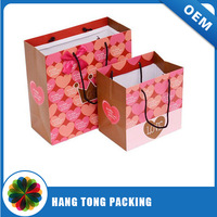 Private Shenzhen factory luxury boutique paper shopping bags