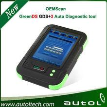 Original GreenDS Car Diagnostic Tools support Oil Reset, SAS Reset, TPMS, DPF OEM Scan tool Professional OBD II GreenDS GDS+ 3