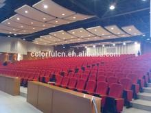 Popular Little Circular Curvel Auditorium Chair Curve Auditorium Seating Curve Auditorium Seat YA-04