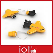 custom airplane usb flash drive