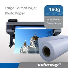Factory Price! hot sell Inkjet fuji photo paper for color laser printer Large Format & Sheet & Jumbo roll,5760dpi