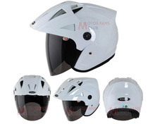 Free shipping Best Sales Safe full face white helmet motorcycle helmet for promotion