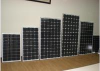 270W Monocrystalline price per watt solar panel for home use