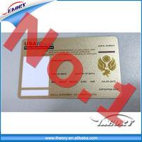 plastic cards/business cards / pvc card, custom full color printing usb flash memory card