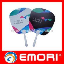 Best selling PP fan stick useful eco-friendly PP small plastic fan