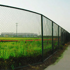 Park fence/yard fence/playground fence PVC coated or galvanized useful chain link fence(100% manufacturer)