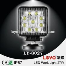 new 27w car led tuning light/led work light with spot/flood beam led work lamp