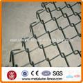 X 6-ft 50-ft de acero galvanizado 11- cadena de calibre- enlace valla de tela