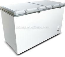 deep chest freezer/Two Door Freezer/Solid Door Top Open Chest fridge