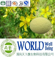 Hot sale St.john's wort extract/Hypericin 0.3%/Antidepressant plant extract
