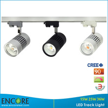 TL CREE COB LED Track Lamp 24W LED Track Light Rail Fixture