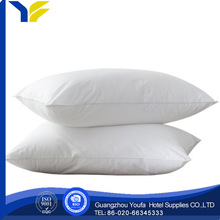 square china wholesale 100% cotton fiber pillow hypoallergenic