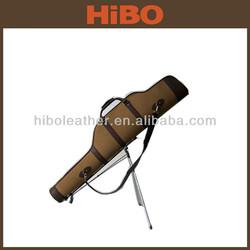 unique design hunting canvas and PU golf gun bag