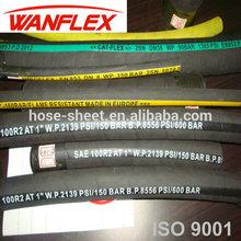 SAE Standard ISO Certificate High Pressure Rubber Hydraulic Hose Pipe R1-R17