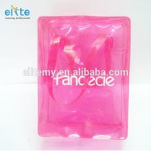 pvc shower gel packing bag,pvc cosmetic case