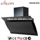 EKE58 European Style Black Tempered Glass Sealed Copper Motor Kitchen Range