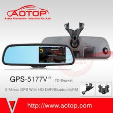 5 Inch Car Audio System With Gps For Volkswagen Support DVR ,Bluetooth ,FM Transmitterr,AV-IN,