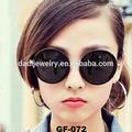 Il nuovo gf-072 retrò occhiali da sole rotondi per ragazza stelle occhiali da sole