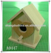 HOT SALE delicate wooden bird house,exquisite wooden birdhouse