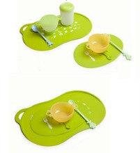silicone placemats for kids ,heat resisitant silicone placemat for dining ,silicone table mat