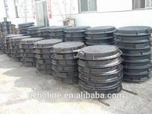 EN124 D400 locking ductile iron manhole covers/heavy duty ductile iron manhole cover for sale 700*700 B125 EN124