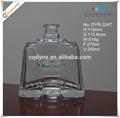 250ml pequena praça fundo grosso cristal garrafas de vinho