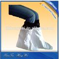 Segurança CPE verde de plástico descartável bota covers