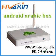 satellite receiver Digital TV arab channels arabic iptv box Android 4.2 Support skype
