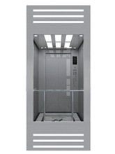 Rear wall sightseeing Observation elevator