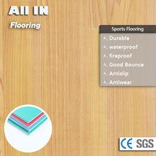 China laminate flooring pvc flooring roll flooring for dance hall