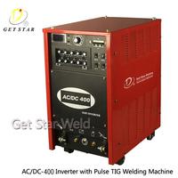 TIG AC/DC Square Wave Inverter Welder/ IGBT welding machine ITG-400