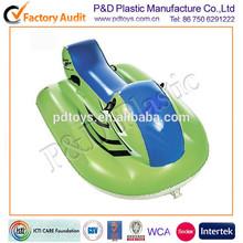 EN71 ICTI PVC green inflatable moto ski