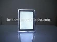 Popular low price frameless vacuum light box