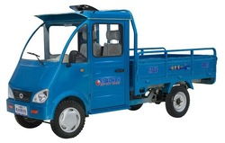 motorized four wheel cargo truck with battery power