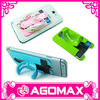 Factory direct sell durable colorful silicone wallet with stand