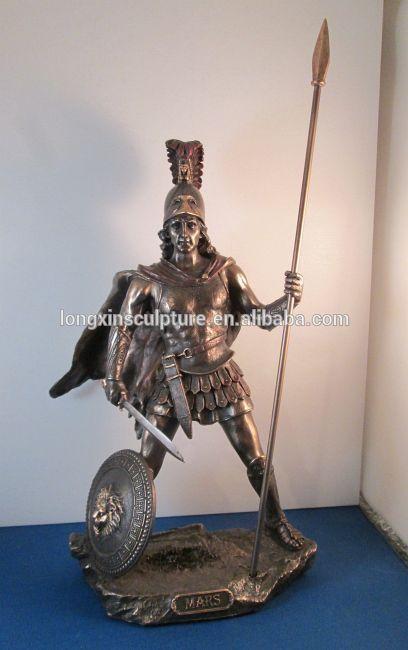 Greek God of War Statue Statues Greek God of War