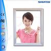 China led slim aluminum picture frame indoor light box