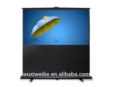 Floor Standing Projector Screen/projection screen/floor pull up screen