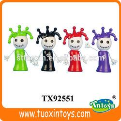 plastic dolls mini dolls, anime plastic clown dolls