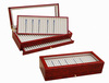 New listing Pen Pencil Fountain Wood Display Case Storage Collector