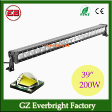 "Super bright 39"" 200W led light bar for car 14000lm atv led light bar, boat led light bar"