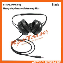 Heavy Duty Headset B-50 HD Headset with no PTT on the cord