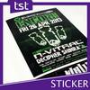 Cheap Printed PVC Label Sticker